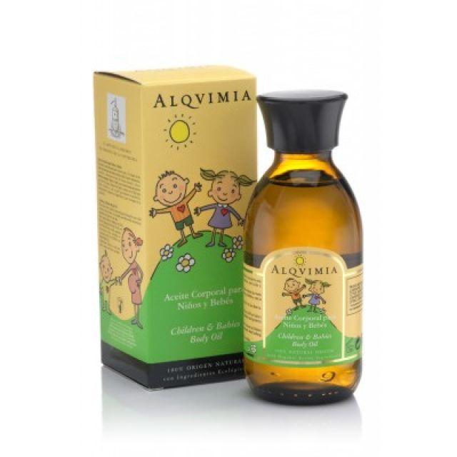 Aceite Corporal para Niños y Bebes ALQVIMIA