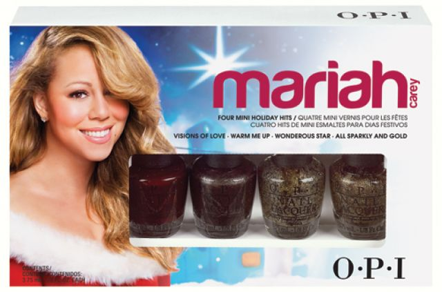 Mariah Carey Holiday Hits Esmaltes O.P.I