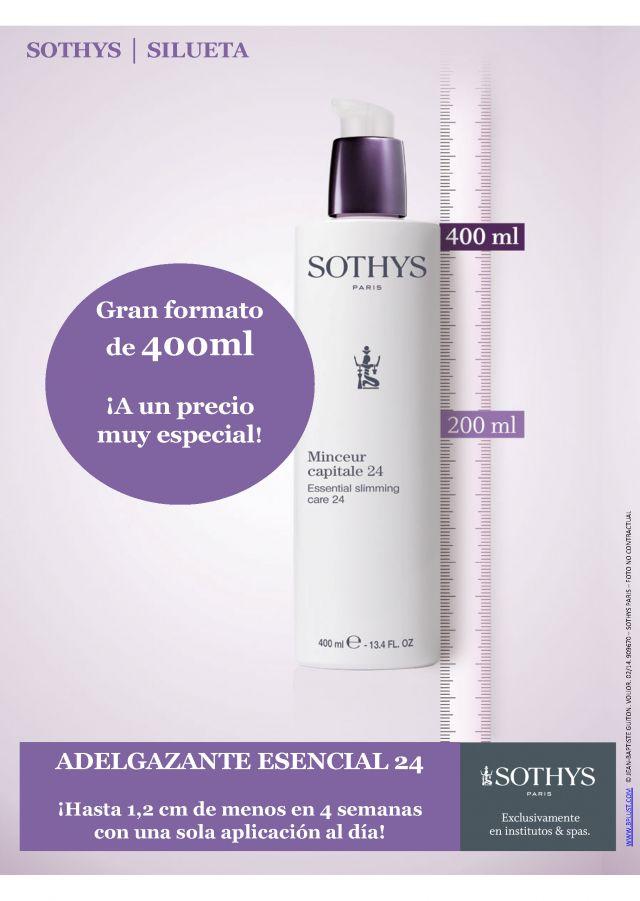 Adelgazante Esencial 24 SOTHYS 400 ml