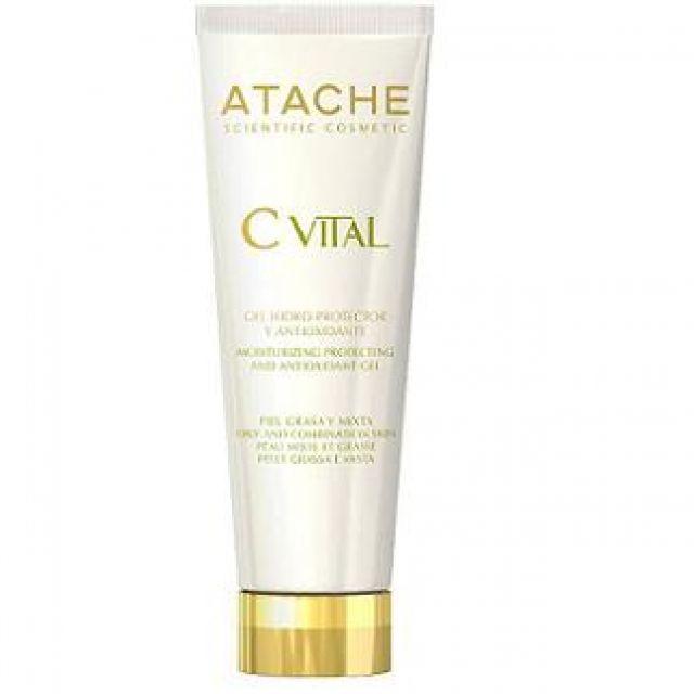 C VITAL- Gel hidroprotectora pieles mixtas-grasas- ATACHE